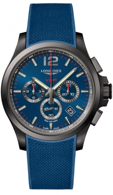 Longines Conquest V.H.P Chronograph Watch