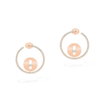 Messika Créoles Lucky Move SM Earrings