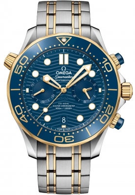 OMEGA Seamaster Diver Chronograph 300M 44mm Watch