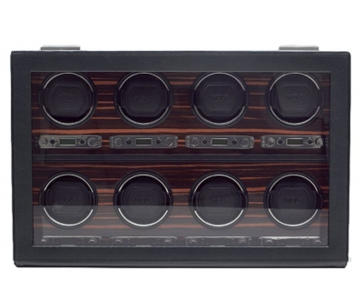 Wolf Roadster 8 Piece Watch Winder With Cover