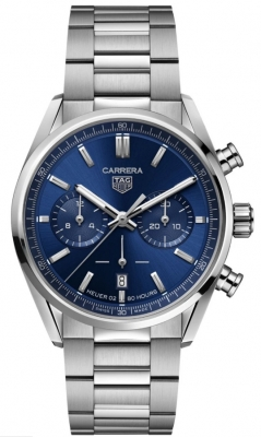 TAG Heuer Carrera 'Heuer 02' Automatic 42mm Chronograph Watch