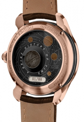 Bremont Hawking 18ct Rose Gold Limited Edition Watch