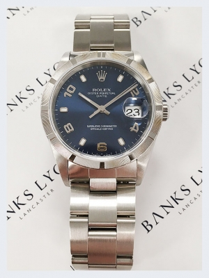 Pre Owned Rolex Oyster Perpetual Date Watch