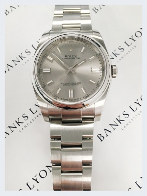 Pre Owned Rolex Oyster Perpetual Stainless Steel Watch