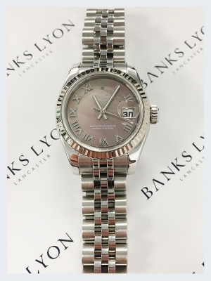 Pre Owned Rolex Lady Datejust 26mm Watch