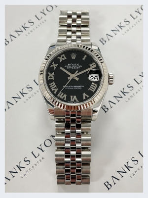 Pre Owned Rolex Datejust 31mm Steel Watch