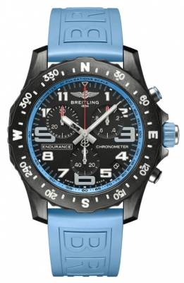 Breitling Endurance Pro - Rubber & Tang-type Buckle