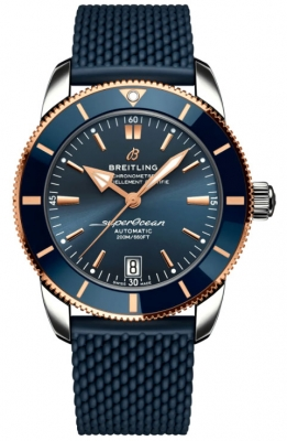 Breitling Superocean Heritage B20 Automatic 42 - Rubber & Pushbutton Folding Clasp