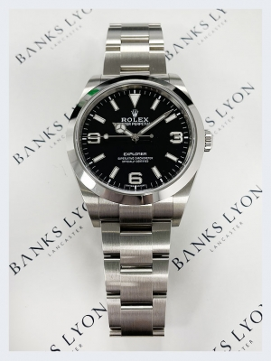 Pre Owned Rolex Explorer Stainless Steel